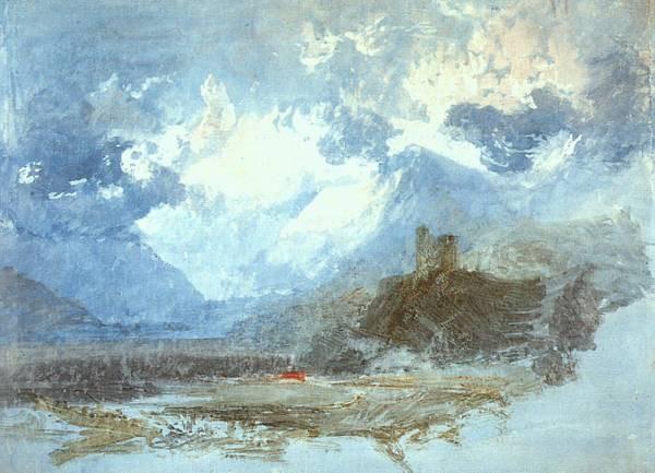 Turner Joseph Dolbadern Castle 1799